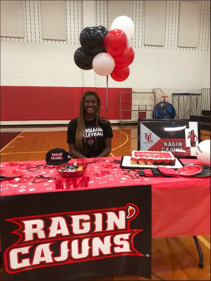 Tia Smith – Univ of Louisiana at Lafayette Commit 2018