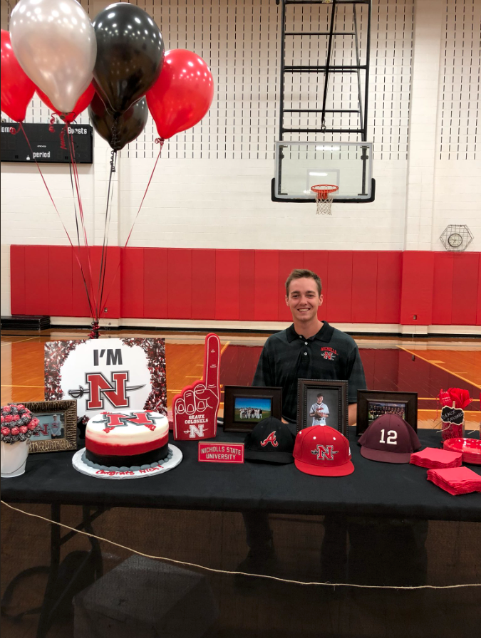 Nick Hill – Nicholls State University Committ 2018