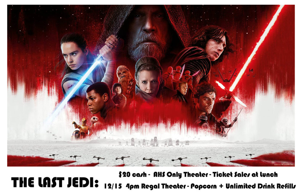 The Last Jedi - Ticket Sales