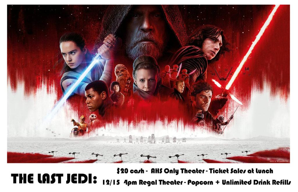 The Last Jedi - Ticket Sales