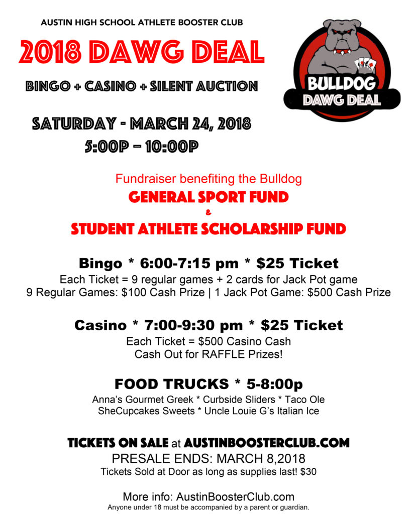 2018 Dawg Deal - AHS Fundraiser