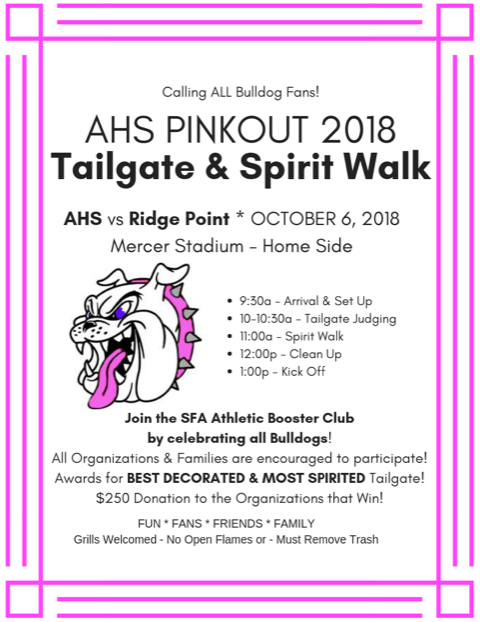 2018 PINK OUT